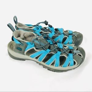 Keen whisper waterproof closed toe hiking sandals
